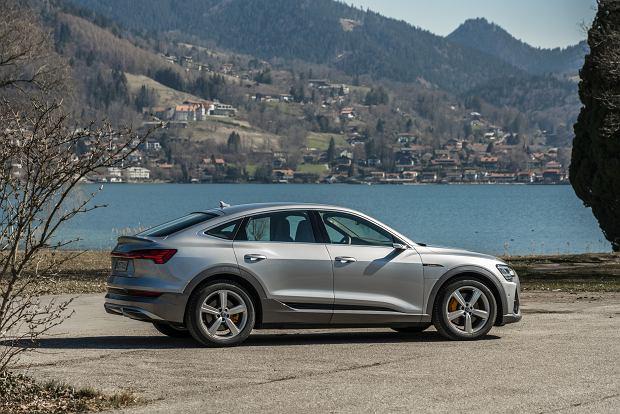 Audi e-tron Sportback z cenami w Polsce. Wersja 50 quattro od 318 800 zł