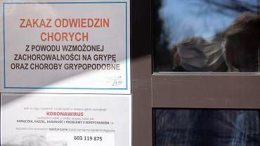 Krotoszyn, 6 kwietnia 2020 r. Objęty kwarantanną Zakład Pielęgnacyjno - Opiekuńczy przy ul. Bolewskiego