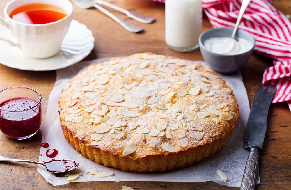 Tarta bakewell - propozycja na wielkanocny stół