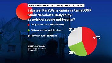Jaka jest Pani\Pana opinia na temat ONR na polskiej scenie politycznej?