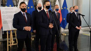 Wspólna konferencja opozycji
