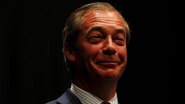 Nigel Farage - lider partii Brexit