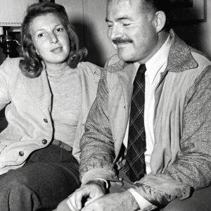 Martha Gellhorn i Ernest Hemingway w 1940 r., zaraz po ślubie