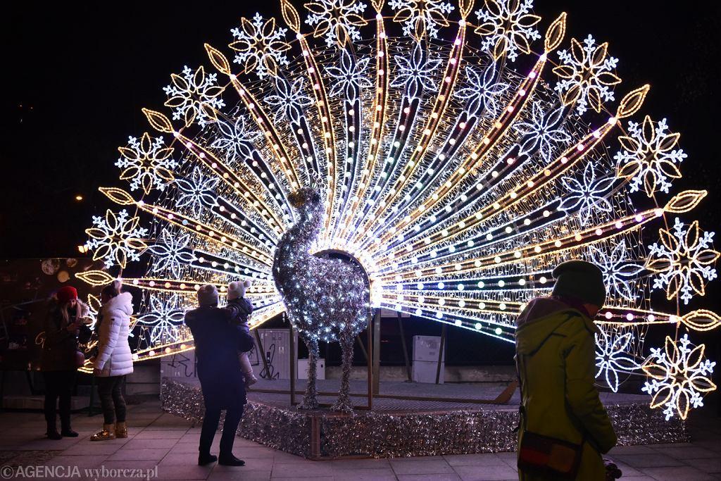 świąteczna Iluminacja Warszawy W Warszawie Rozbłysła
