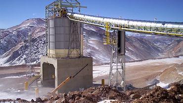 Kopalnia złota Veladero w Argentynie