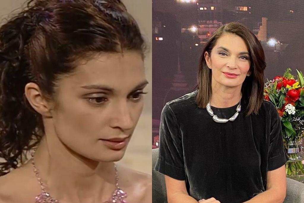 Mariana Arias 20 lat temu i dziś