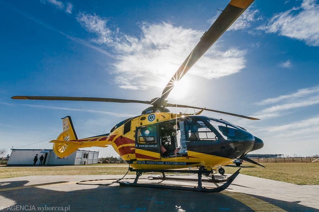 Helikopter Lotniczego Pogotowia Ratunkowej / Zdjęcie ilustracyjne