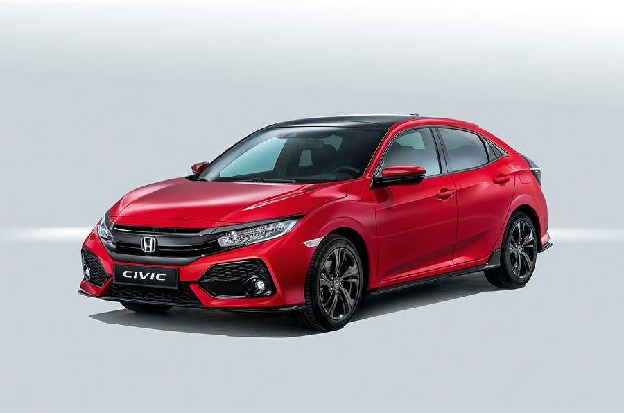 Europejska Honda Civic X