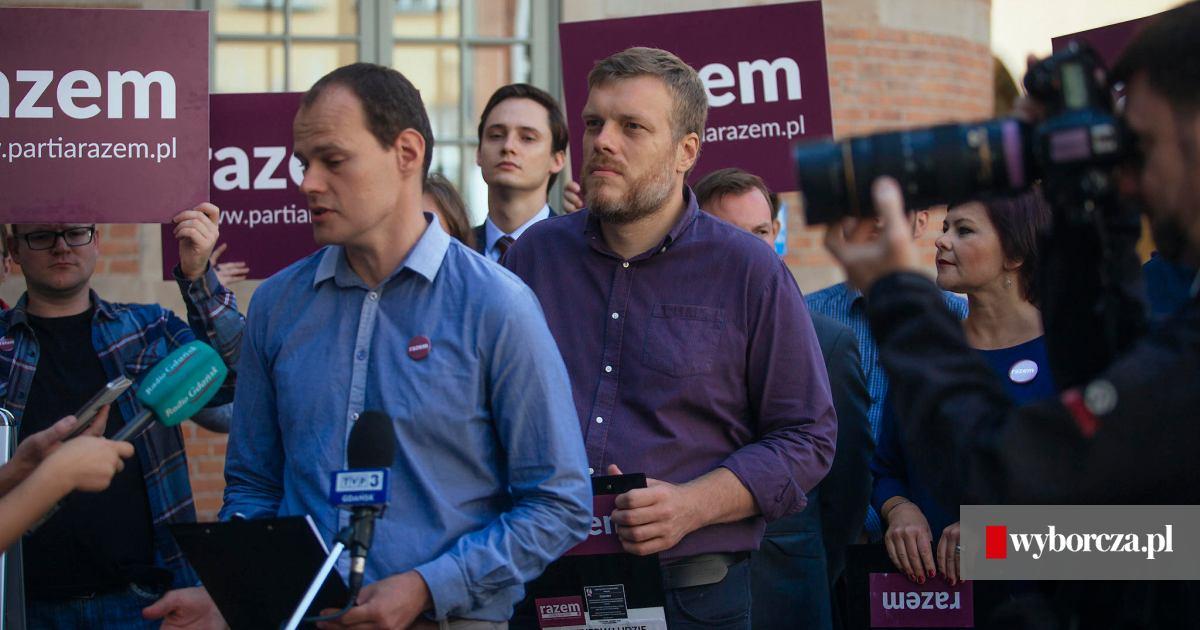 6d7fa571a0e760 Partia Razem pokazała kandydatów do sejmiku pomorskiego i wyraziła  solidarność z dziennikarką 'Wyborczej'