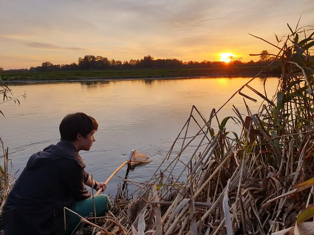 Ostatnio Jarek obserwuje zbiorniki wodne w Łodzi, gdzie mieszka (fot. Katarzyna Brodecka / Archiwum prywatne)