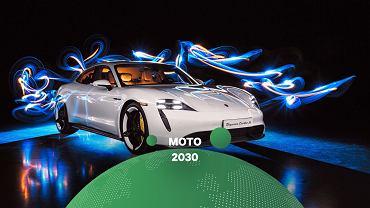 Elektryczne Porsche Taycan Turbo S