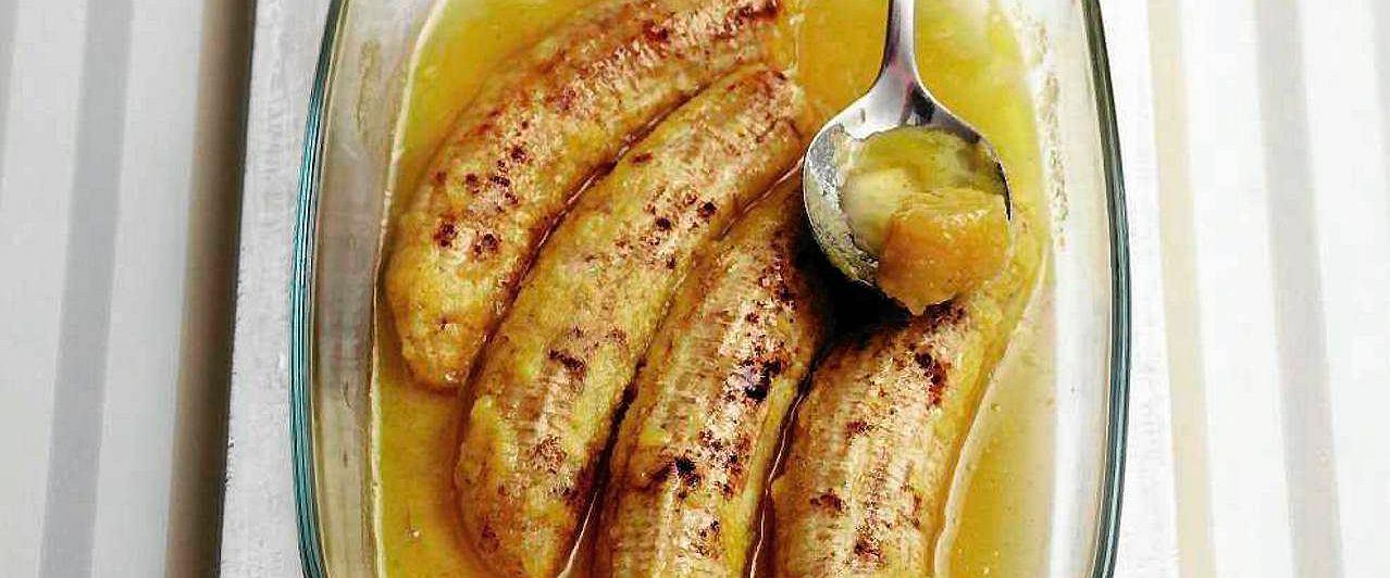 Banany flambirowane po barbarzyńsku