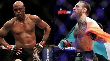 Anderson Silva oraz Conor McGregor (UFC)