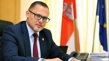 Prezydent Sieradza Paweł Osiewała
