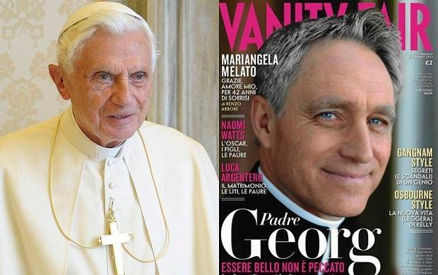 Benedykt XVI, sekretarz George Gaenswein