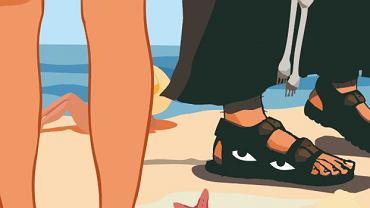 Wikary spod Zamościa podglądał nastolatki kamerą umieszczona w sandale