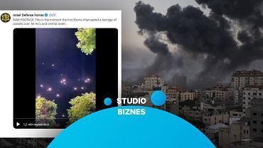 Grad rakiet nad Izraelem. Do czego doprowadzi eskalacja konfliktu w Strefie Gazy?