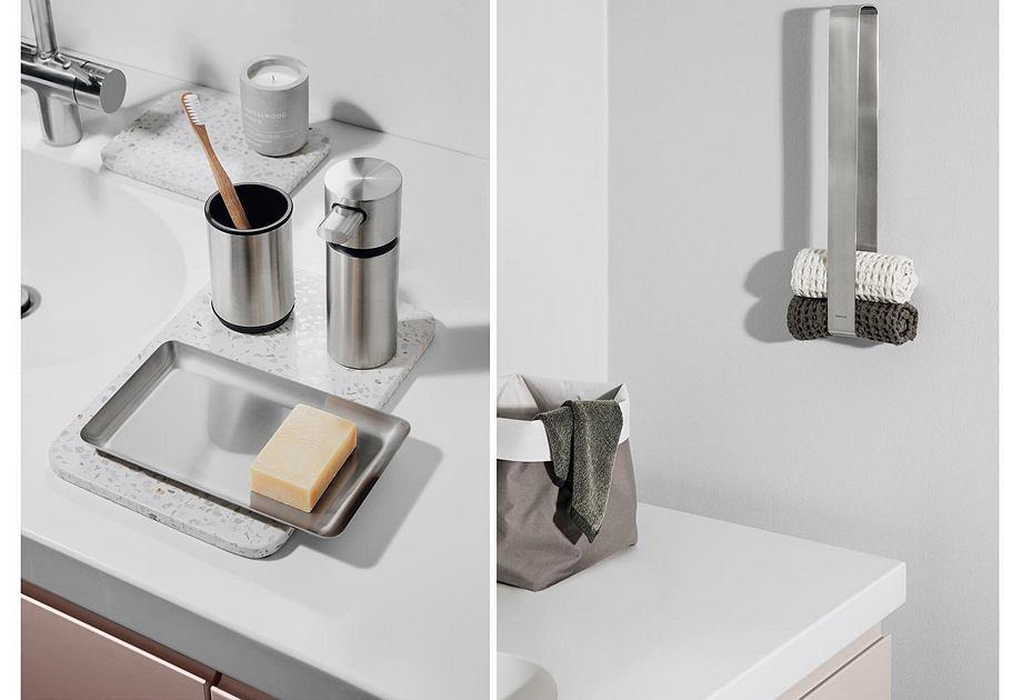 Blomus - akcesoria do łazienki ze stali nierdzewnej
