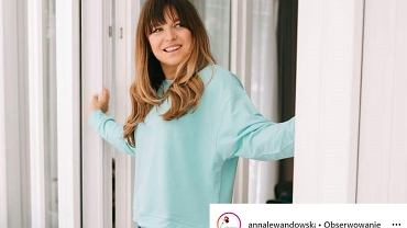 Anna Lewandowska zdradziła, kiedy pojawi się zaprojektowana przez nią kolekcja ubrań