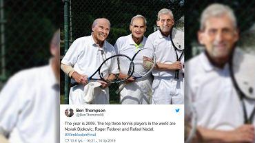 Nadal, Federer, Djoković