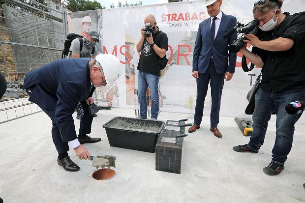 Zdjęcie numer 10 w galerii - Kamień węgielny pod Centrum Medycyny Weterynaryjnej UMK za 60 mln zł [GALERIA]