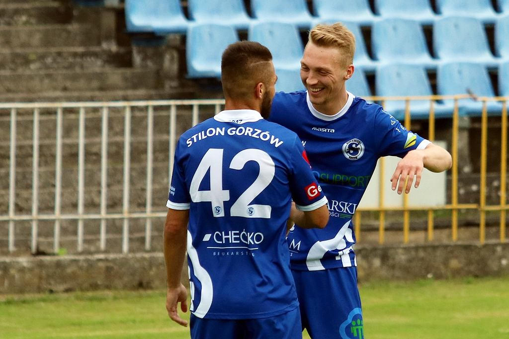 Wtorek, 1 czerwca 2021 r. Lubuska czwarta liga piłkarska: Stilon Prosupport Gorzów - Spójnia Ośno Lubuskie 3:0 (3:0)