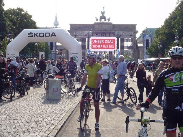 Maraton rowerowy w Berlinie