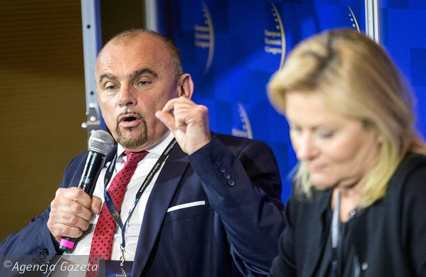 Alfred Bujara z NSZZ 'Solidarność'