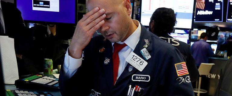 Wall Street najgorzej w tym roku, WIG20 mocno w dół, złoty traci, frank w górę