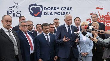 W piątek PiS przedstawił listy kandydatów do parlamentu, w poniedziałek ruszyli z kampanią na Dolnym Śląsku.