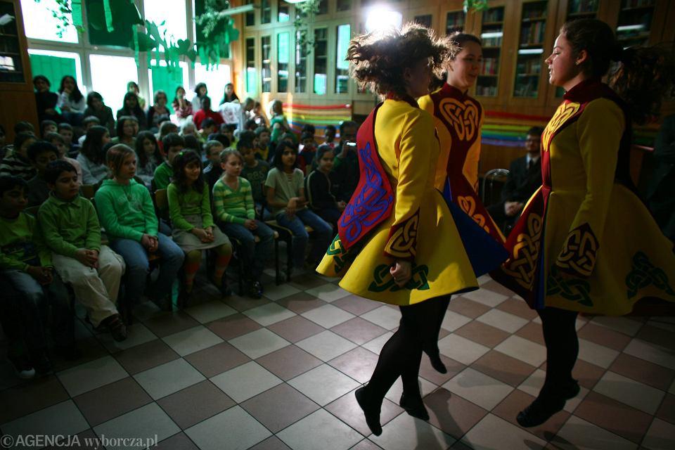 Dzień irlandzki w International American School, 2007 r.