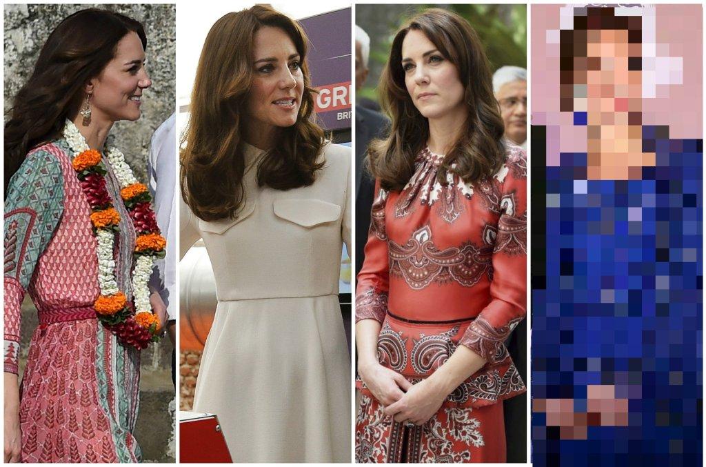 Księżna Kate i książę William w niedzielę rozpoczęli oficjalną wizytę w Indiach, a księżna niezmiennie zachwyca swoimi oryginalnymi i dopasowanymi do okazji kreacjami. Najwięcej entuzjazmu wzbudziła granatowa suknia.