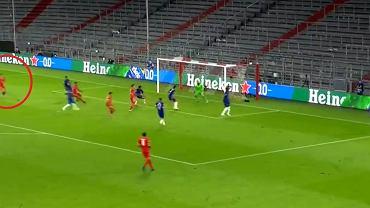 Drugi gol Roberta Lewandowskiego w meczu z Chelsea