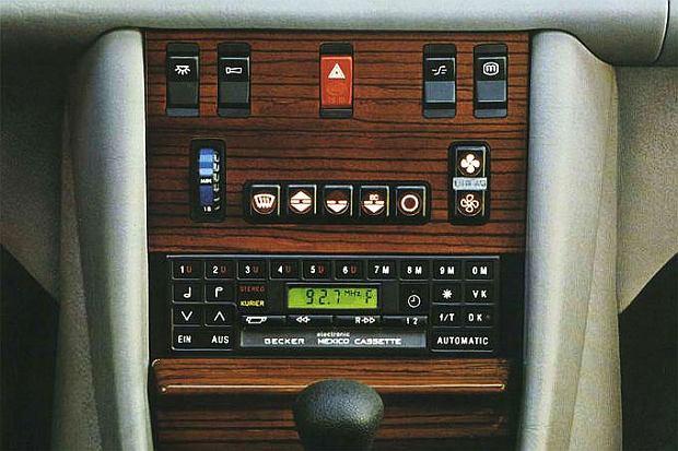 Radio Becker i automatyczna klimatyzacja