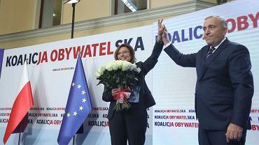 Grzegorz Schetyna ogłosił, że Małgorzata Kidawa-Błońska jest kandydatką KO na premiera