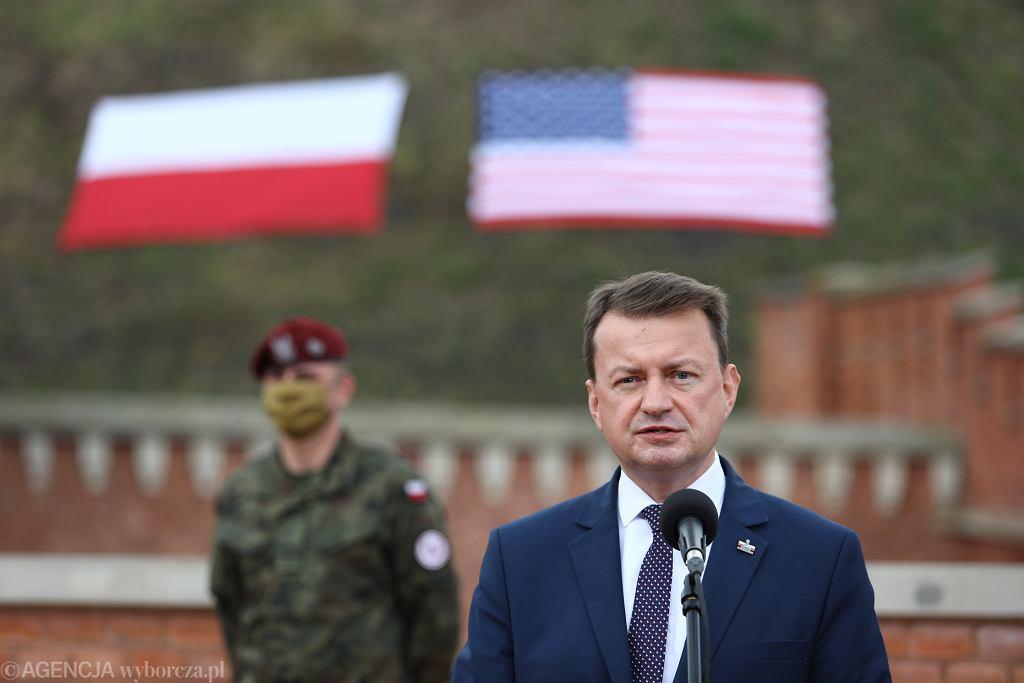 Mariusz Błaszczak o łuskach 'Made in Poland' z Białorusi: To może być prowokacja