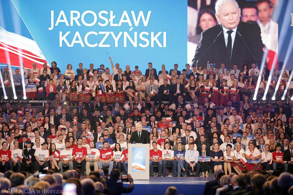 Konwencja wyborcza PiS w Lublinie, 7 września 2019