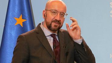 OWizyta w Warszawie przewodniczacego - elekta Rady Europejskiej Charlesa Michela