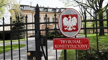 Siedziba Trybunału Konstytucyjnego przy al. Szucha w Warszawie