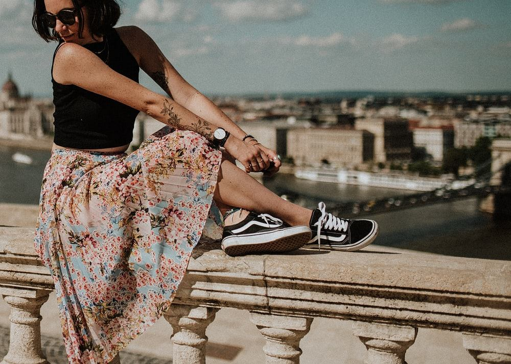 letnia spódnica zdjęcie ilustracyjne
