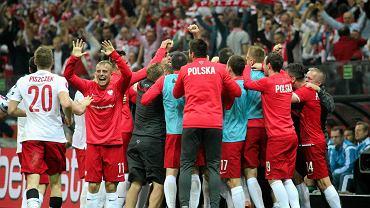 Radość reprezentantów Polski