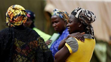 Kobiety w obozie dla uwolnionych z rąk Boko Haram