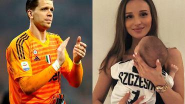 Marina Łuczenko-Szczęsna, Wojciech Szczęsny, Liam Szczęsny