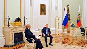 Aleksander Łukaszenka spotkał się z Władimirem Putinem