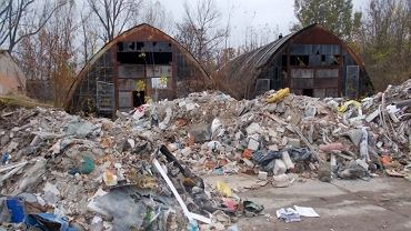 Na Białołęce zlikwidowano nielegalne wysypisko śmieci