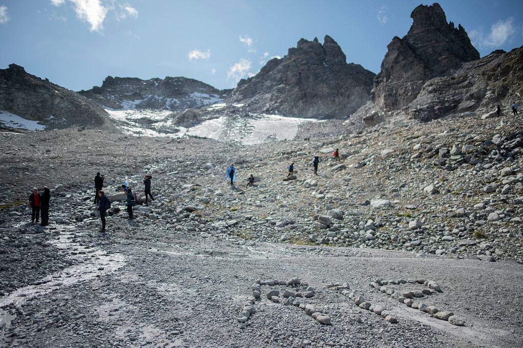 Pogrzeb lodowca Pizol, fot. Switzerland Pizol Glacier