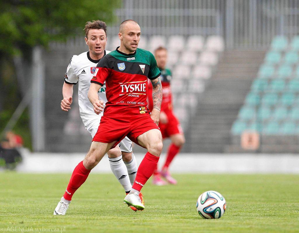 Damian Szczęsny jeszcze w barwach GKS-u Tychy