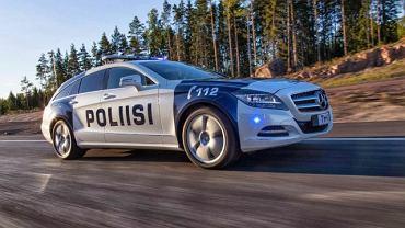Mercedes CLS Shooting Brake 350 CDI dla fińskiej policji