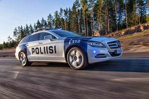 Policyjny Mercedes CLS Shooting Brake