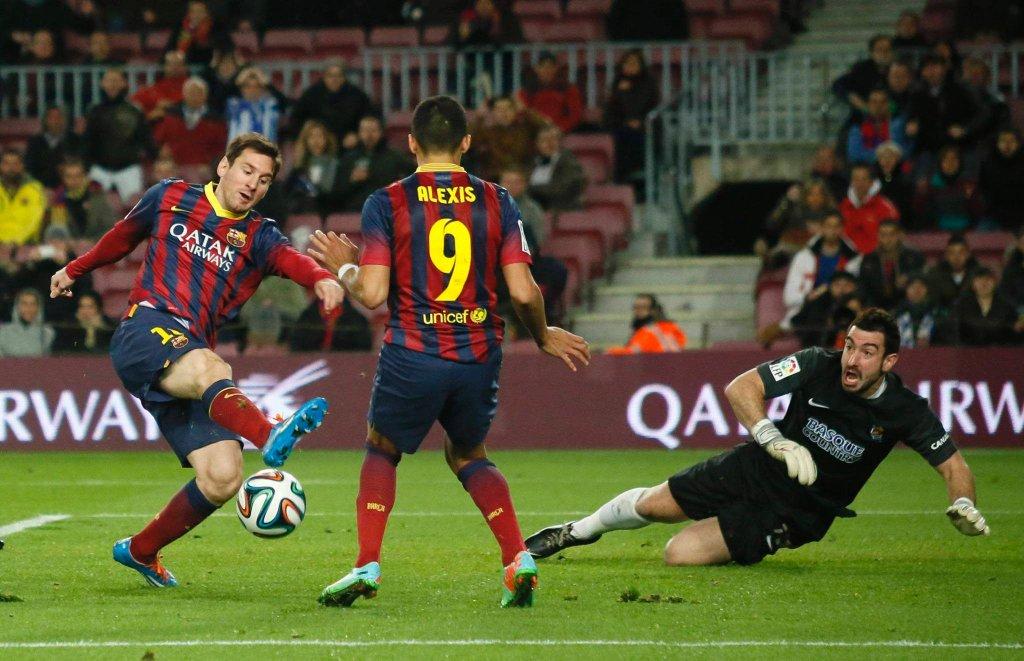 Leo Messi i Alexis Sanchez